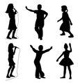 Kids singing dancing vector | Price: 1 Credit (USD $1)