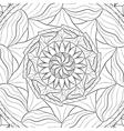 Mandala Zentangle vector image vector image
