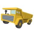 Building truck Tipper cartoon vector image