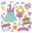 Fairy Tale Princess vector image vector image