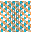 Fine geometric seamless pattern vector image vector image