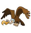 flying griffon vector image