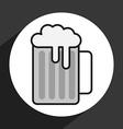 ice beer vector image vector image