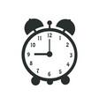 retro clock alarm vintage old technique vector image