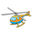 toy helicopter vector image vector image