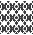 tribal black white textile seamless pattern vector image vector image