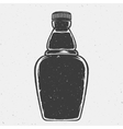 Hand Drawn Bottle or a Flask Good Shape vector image