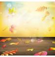 Autumn background EPS 10 vector image