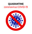 coronavirus covid-19 staying at home with self vector image