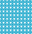 seamless star on blue circle pattern background vector image vector image