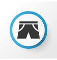 shorts icon symbol premium quality isolated vector image vector image