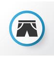 shorts icon symbol premium quality isolated vector image