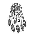 Tribal dream catcher vector image vector image
