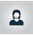 women customer support vector image vector image