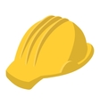 Yellow safety helmet cartoon vector image vector image