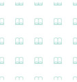 book icon pattern seamless white background vector image vector image