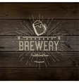 Brewery badges logos and labels for any use vector image vector image