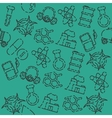 Chemical industry pattern vector image vector image
