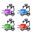 DeliveryIconSet vector image