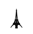 eiffel tower icon vector image vector image
