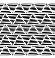 Graphic triangle pattern