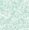 Green triangles abstract geometric background vector image vector image