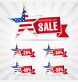 independence day usa sale vector image vector image