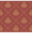 Pattern in baroque style vector image vector image