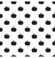 Pumpkin pattern simple style vector image vector image