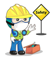 safety vector image