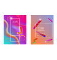 Abstract background with gradient waves and