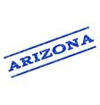 Arizona Watermark Stamp vector image vector image