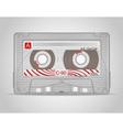 audio cassette 02 vector image vector image