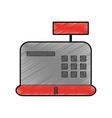 cash register icon vector image vector image