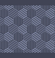 concept gray seamless geometry pattern vector image vector image