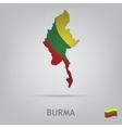 country burma vector image vector image