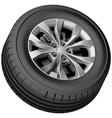 Crossover wheel vector image vector image