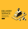 Delivery service halftone