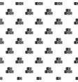 hay bundles pattern vector image vector image