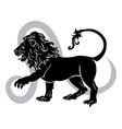 leo zodiac horoscope astrology sign vector image