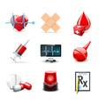 medical icons | bella series 1 vector image vector image