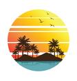 summer vacation2 vector image