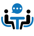 business consulting icon vector image vector image