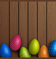 easter poster and banner template vector image