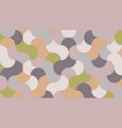 geometric panel in shades almost mauve vector image vector image