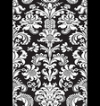 seamless floral damask pattern antique vector image