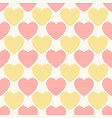 seamless geometric pattern with striped vector image vector image