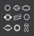 set logos vector image
