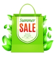 Summer Sale Shopping Bag vector image vector image