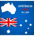 Australia Day Background vector image vector image